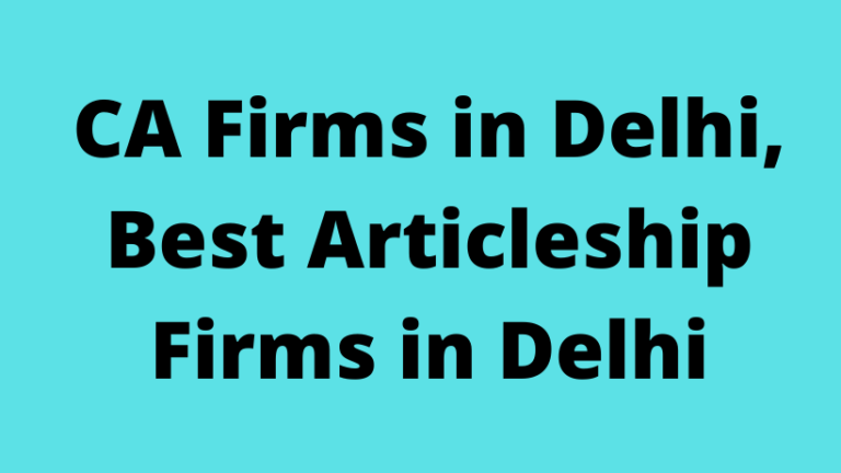 CA Firms in Delhi