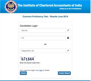 CA CPT Result June 2019 final