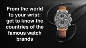 From the world to your wrist