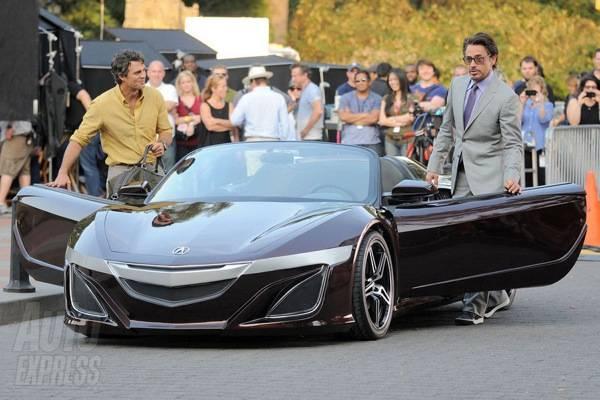 Robert Downey Car