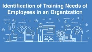 Identification of Training Needs of Employees in an Organization