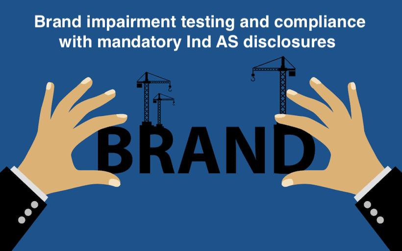 Brand impairment testing
