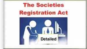 Societies Registration Act