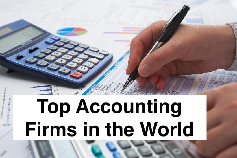 Top Accounting Firms in the World