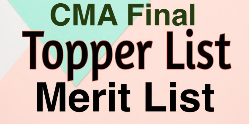 CMA Final Toppers