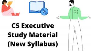 CS Executive Study Material