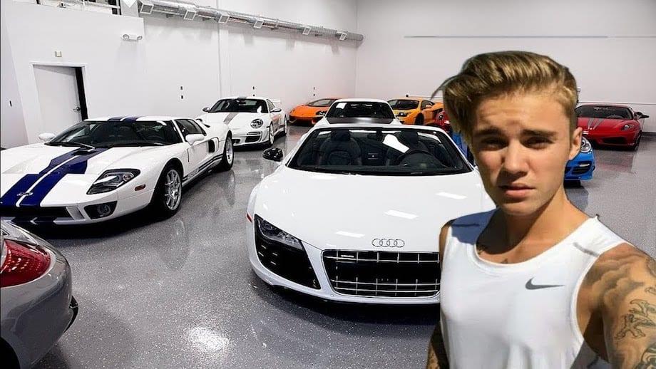 Justin Bieber Car Collection
