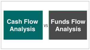 Difference between Cash Flow Analysis and Funds Flow Analysis