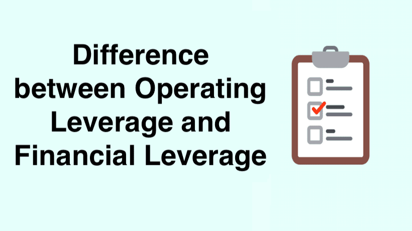 Difference between Operating Leverage