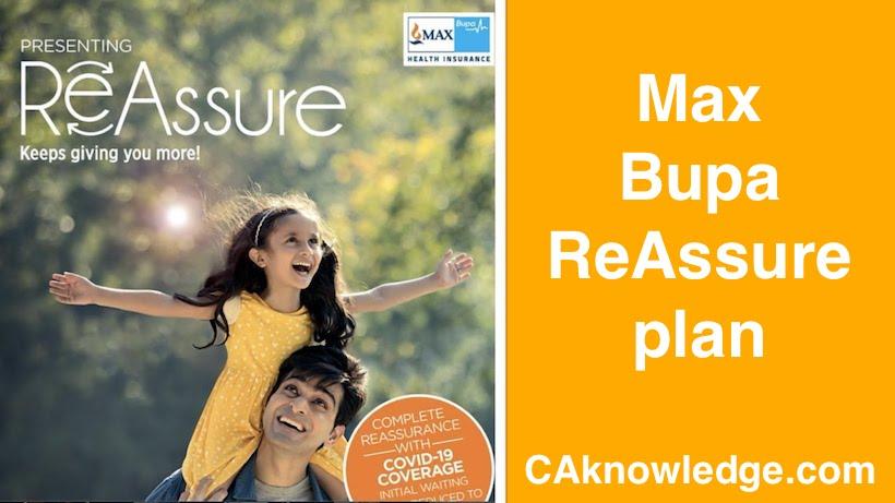 Max Bupa ReAssure plan