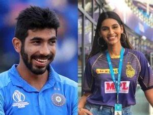 Bumrah wife Sanjana Ganesan