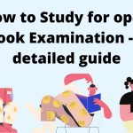 Study for open book Examination