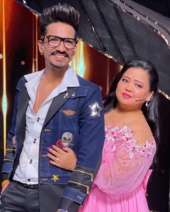 Bharti Singh with Husband