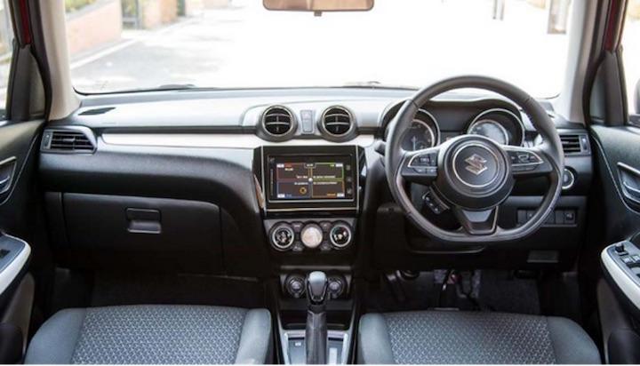 Suzuki Swift Eco Car Interior