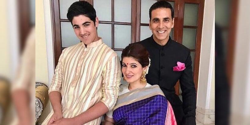 Akshay Kumar with family