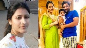 Ambati Rayudu with wife