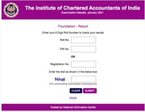 CA Foundation Result January 2021