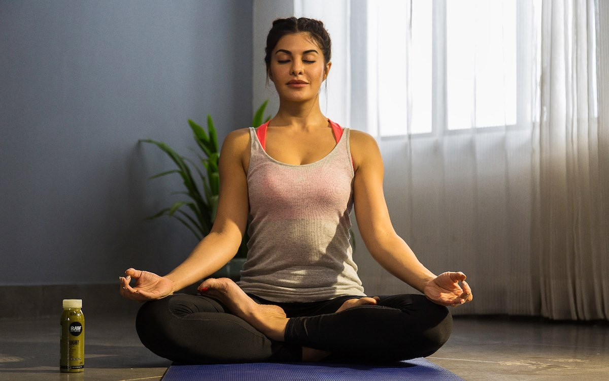 Jacqueline Fernandez Hot Yoga