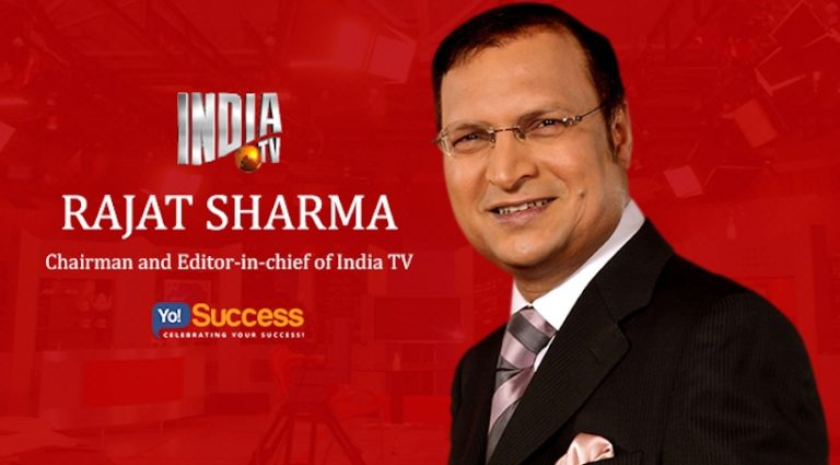 Rajat Sharma Net Worth