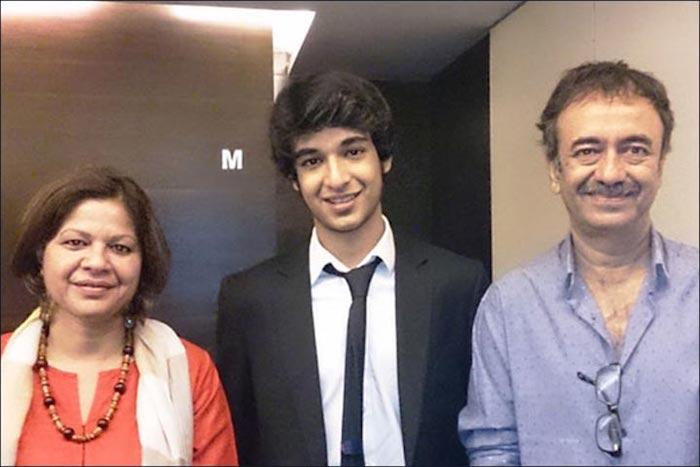 Rajkumar Hirani Family