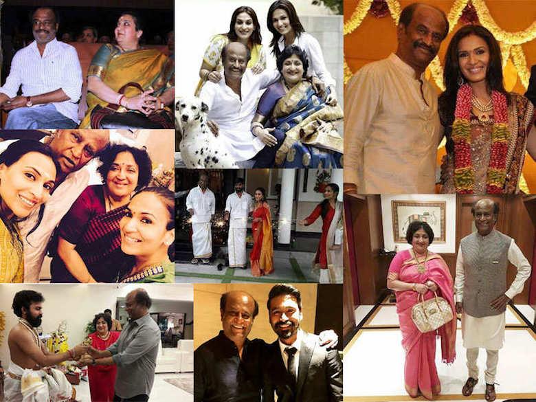Rajnikanth family