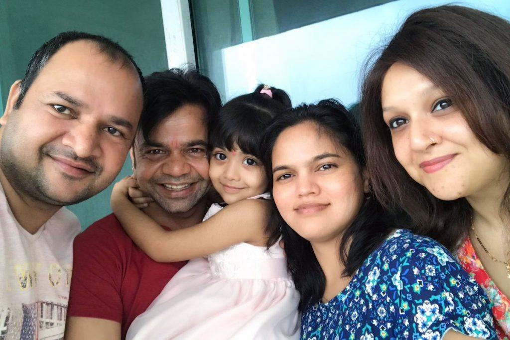 Rajpal Yadav with family