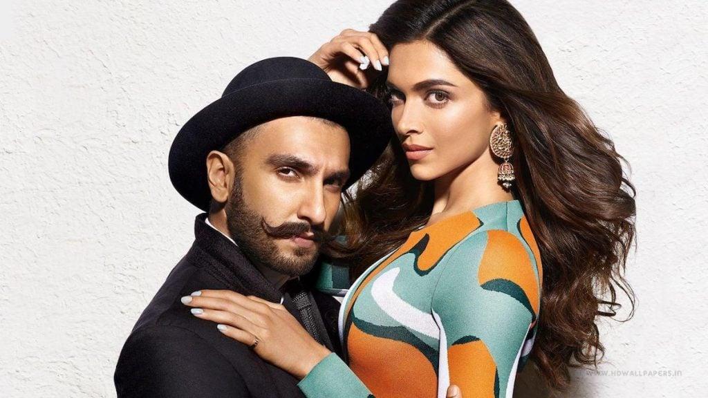 Ranveer Singh with Deepika