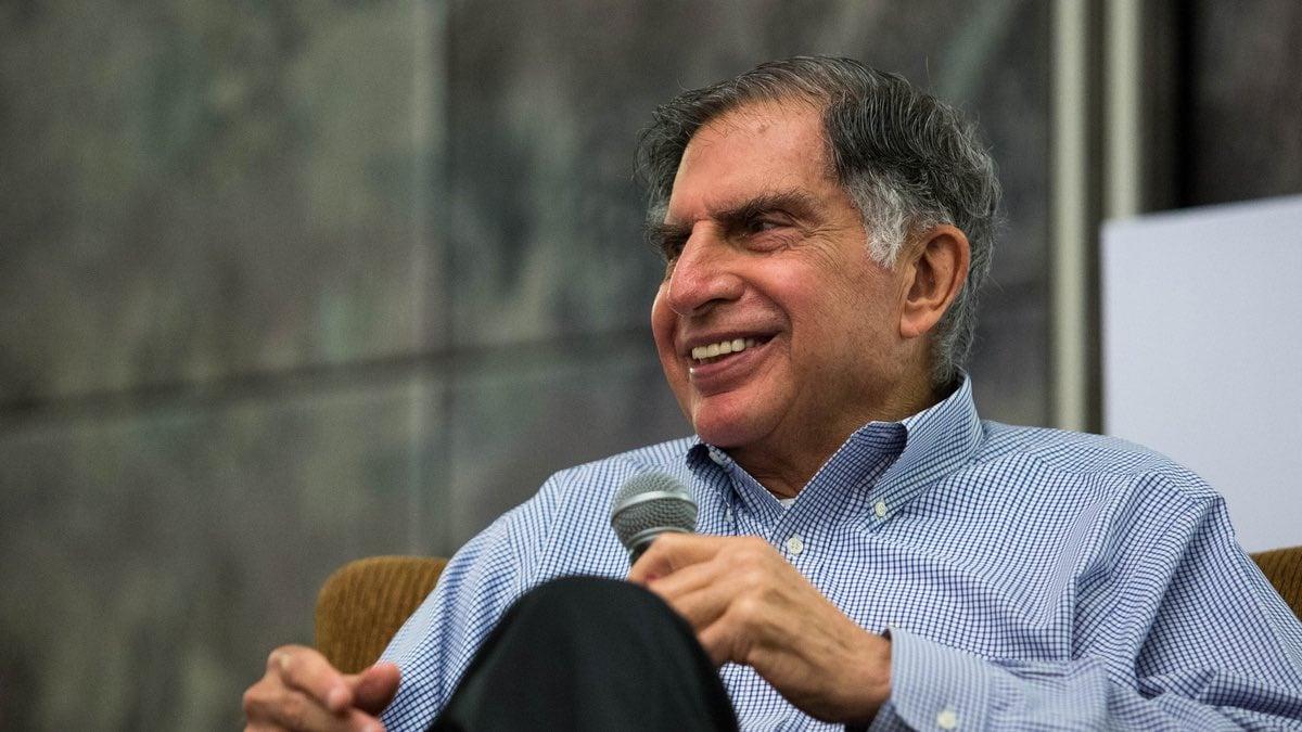 Ratan Tata Relax
