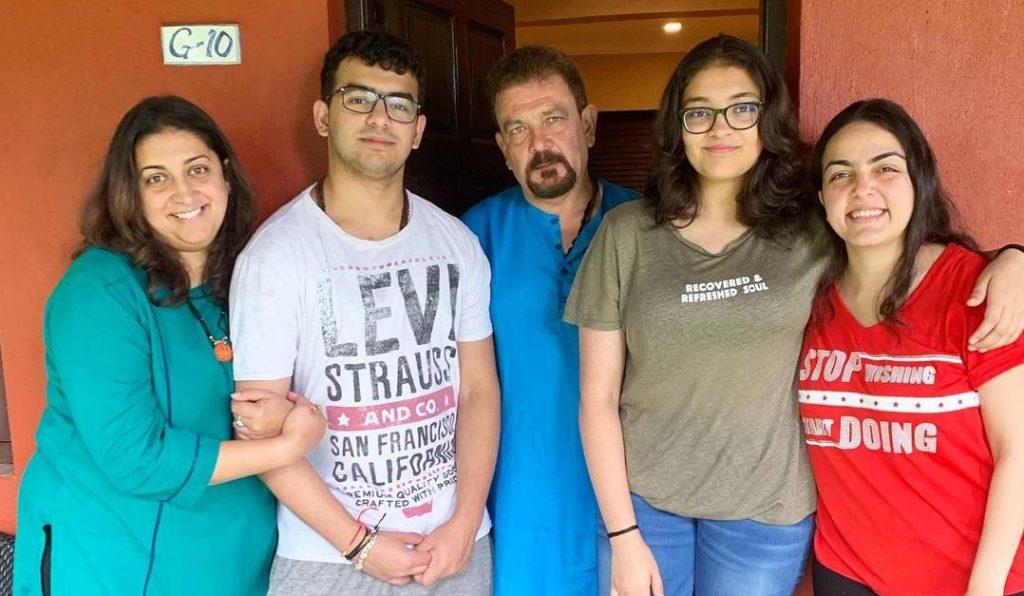 Smriti Irani family