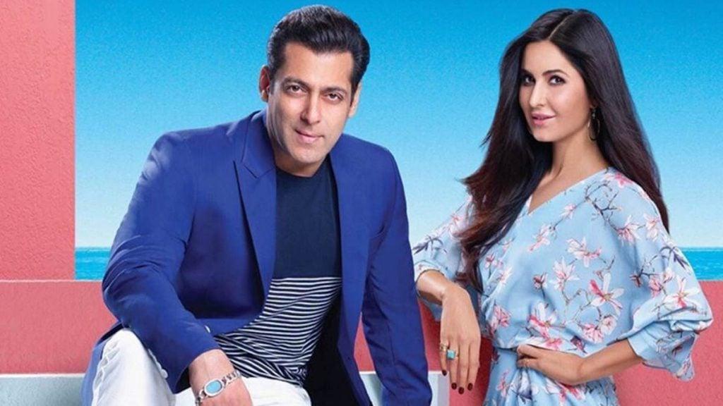 Salman Khan with Katrina Kaif