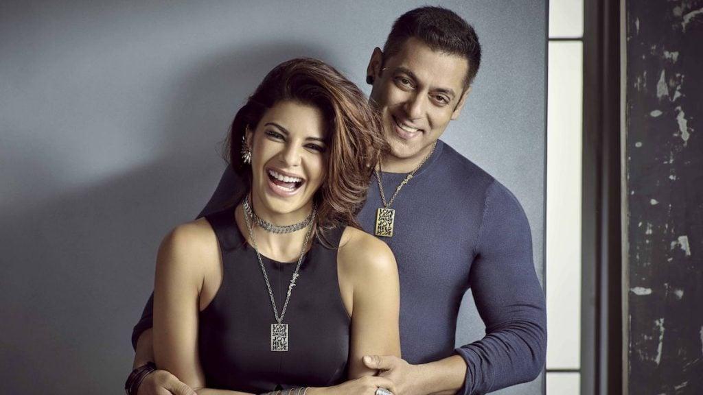 Salman Khan with jacqueline fernandez