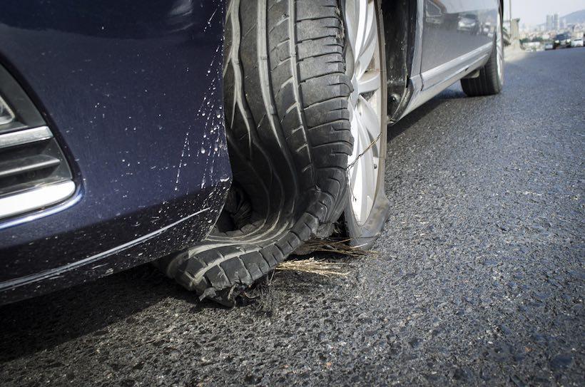Tires Explode