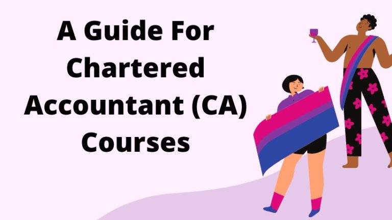 A Guide For Chartered Accountant Courses