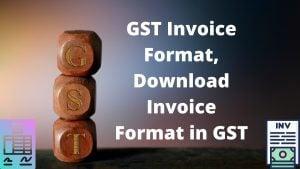 GST Invoice Format