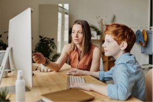 Help Their Children to Study Online