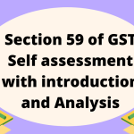 Section 59 of GST