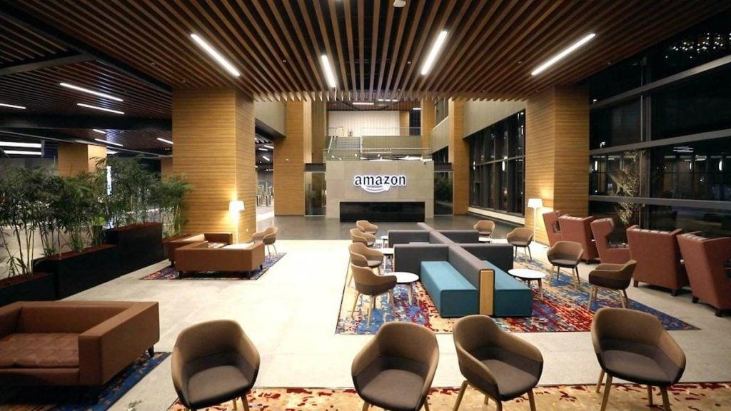 Amazon inside office