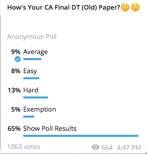 CA Final DT Review New