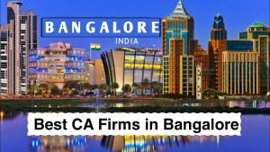 CA Firms in Bangalore
