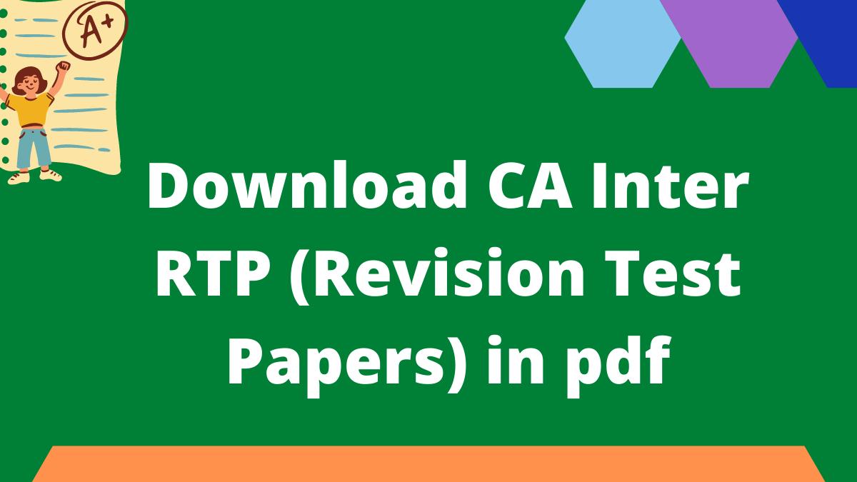 CA Inter RTP