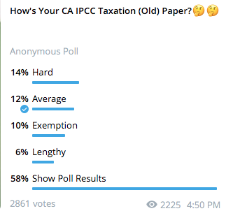 CA IPCC Taxation Paper Review July 2021