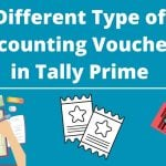 Accounting Vouchers in Tally