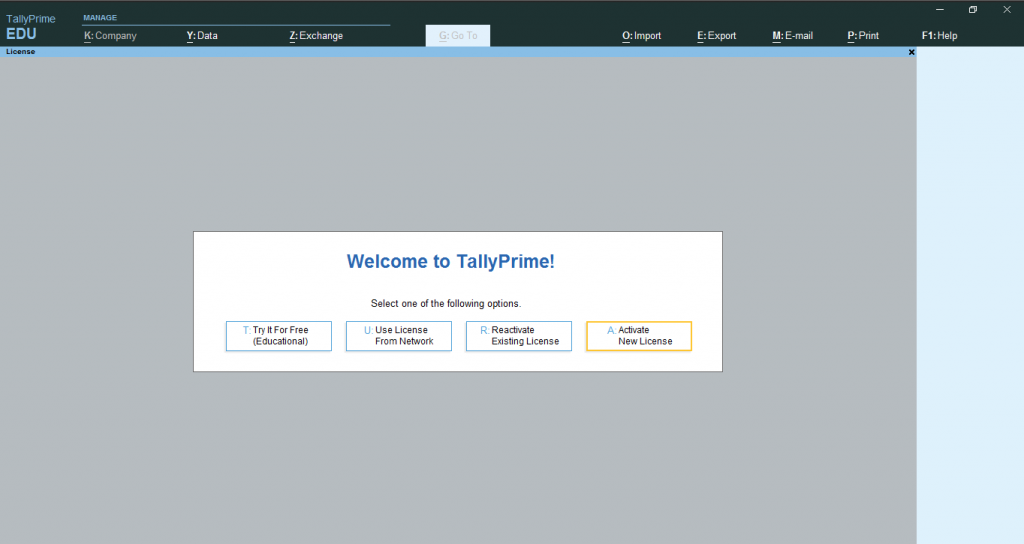 Tally-prime