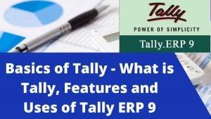 Basics of Tally