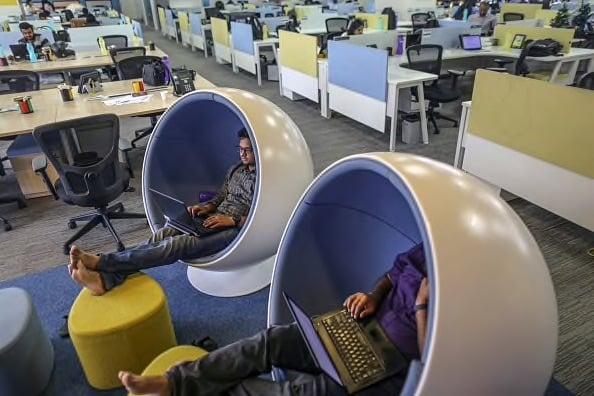 Flipkart inside Office