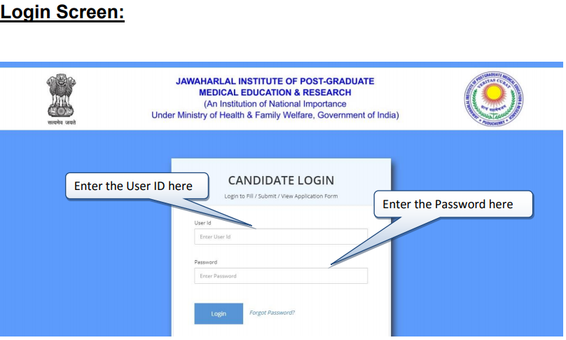 How-to-fill-JIPMER-2022