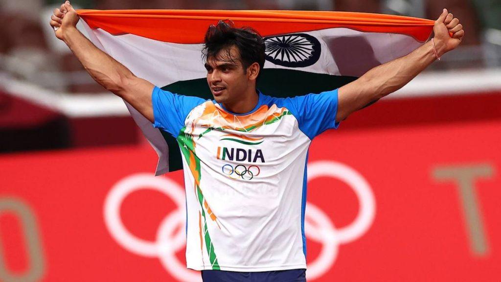 Neeraj Chopra Men javelin throw