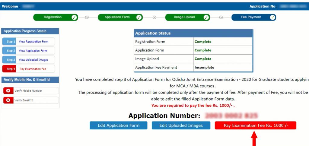 ojee-2021-application-form-correction