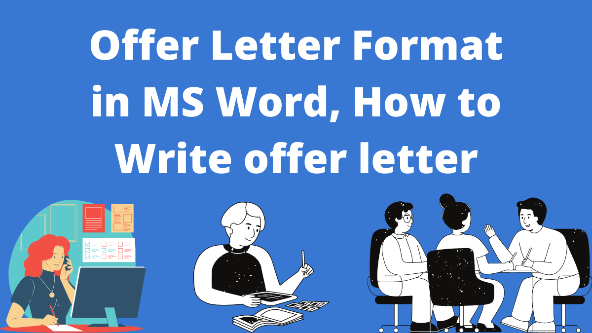 Offer Letter Format in MS Word