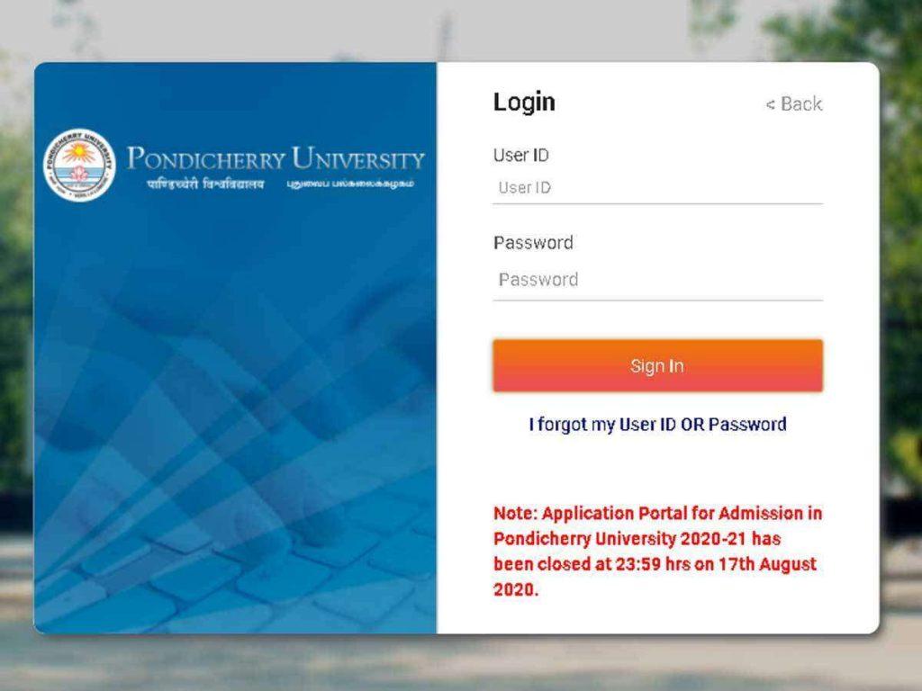 Pondicherry-university-2021